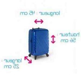 Comment mesurer la taille d'une valise ?