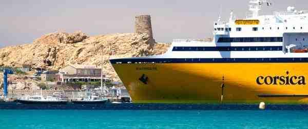 Comment prendre un bateau en Corse?