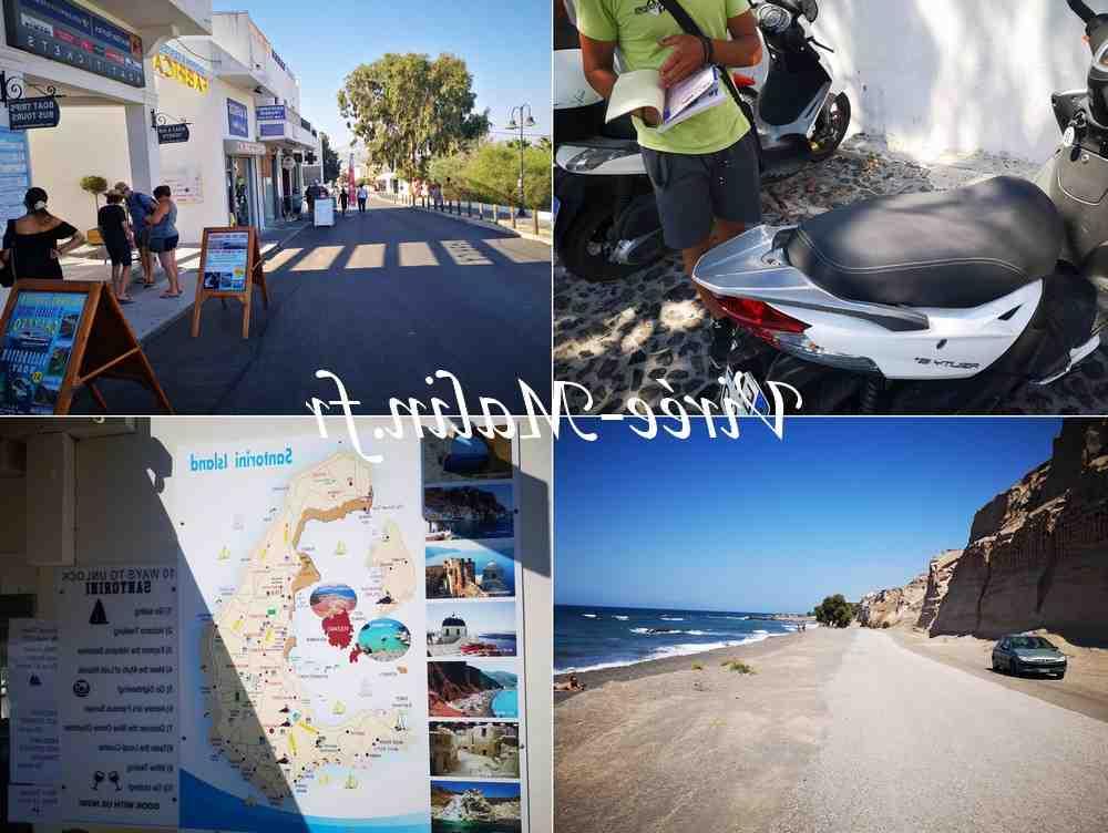 Comment se rendre d'Athènes à Santorin?