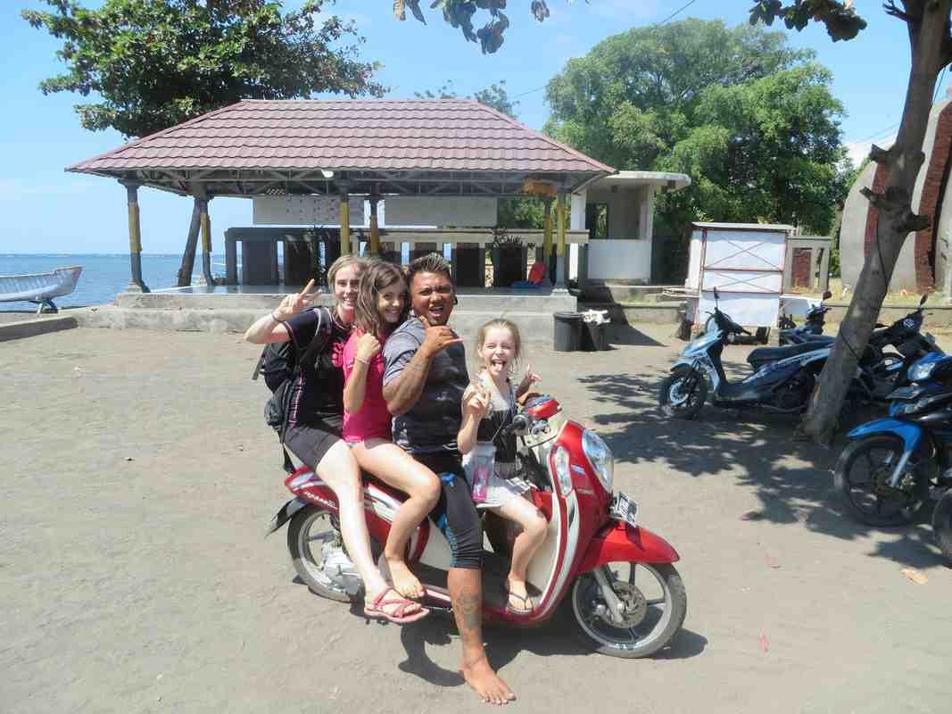 Comment voyagez-vous en famille à Bali?