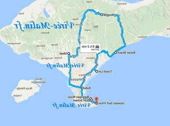 Où aller au nord de Bali?