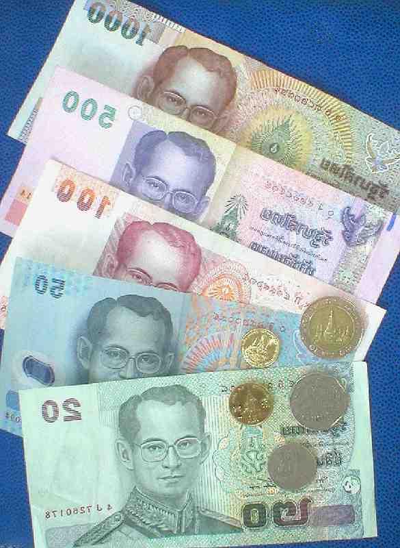 Où changer l'euro à Bath à Bangkok?