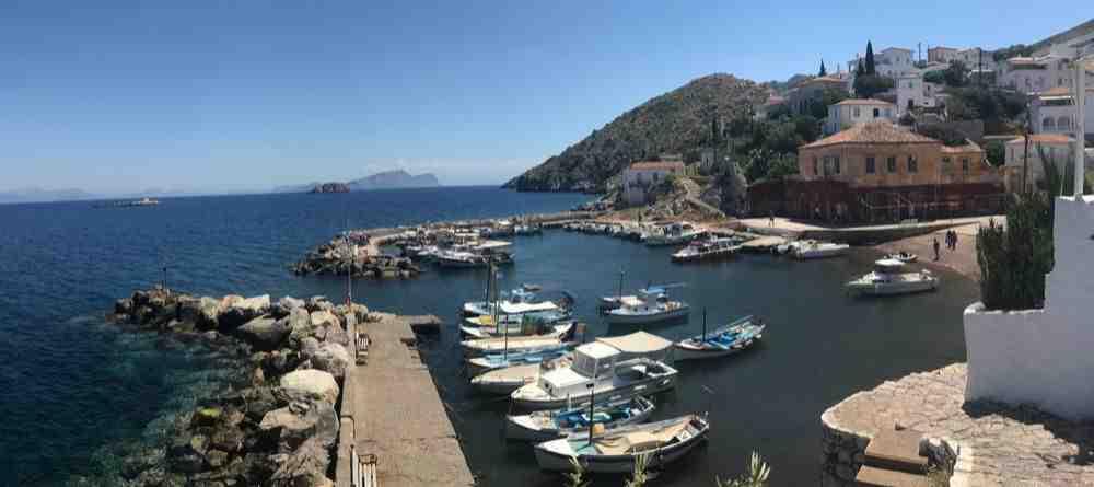 Où est l'île grecque pour les vacances?
