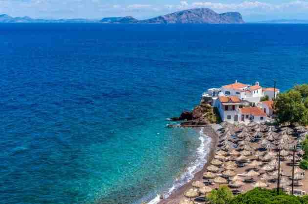 Où partir en vacances entre amis en Grèce
