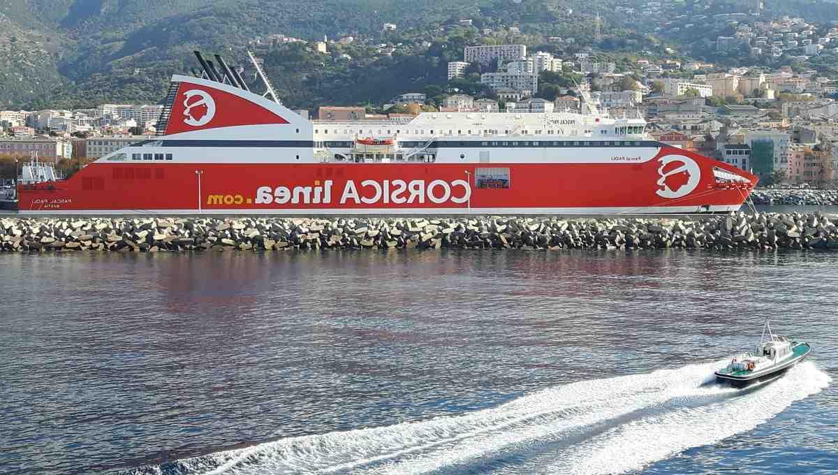 Où prendre le bateau Corsica Linea à Marseille?