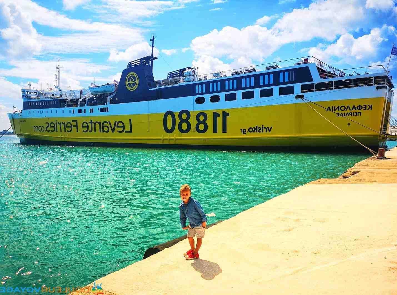 Où prendre le bateau pour aller en Grèce?