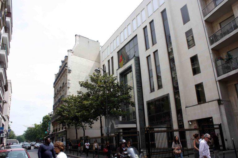 Où se trouve l'ambassade de la Grèce au Cameroun ?