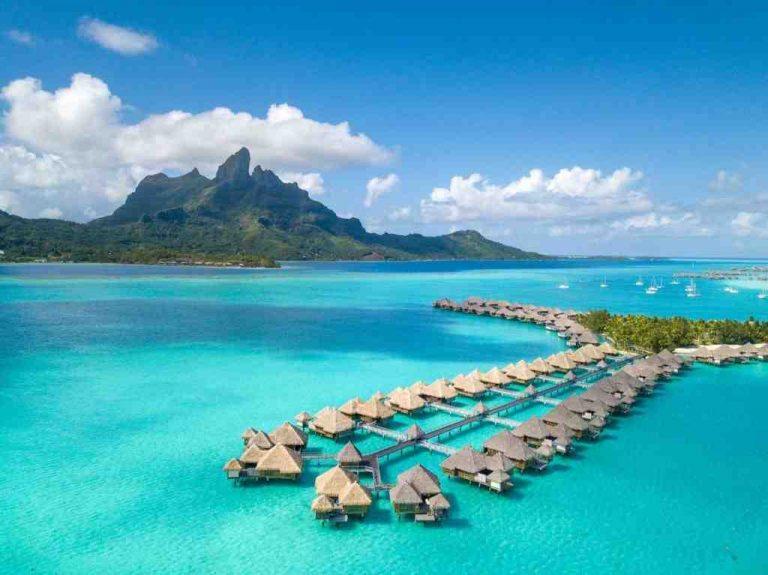 Où se trouve l'île de Bora Bora ?