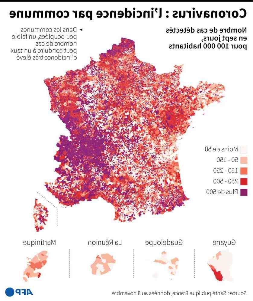 Où vont les 3 jours en novembre en France?