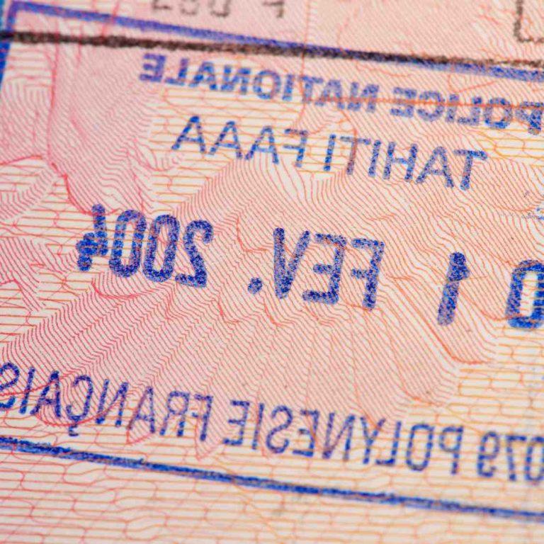 Quel papier pour aller à Tahiti ?