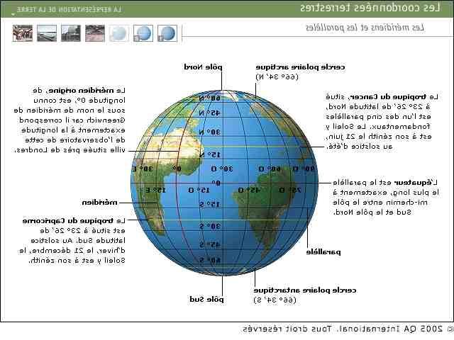 Quelle est la latitude de New York ?