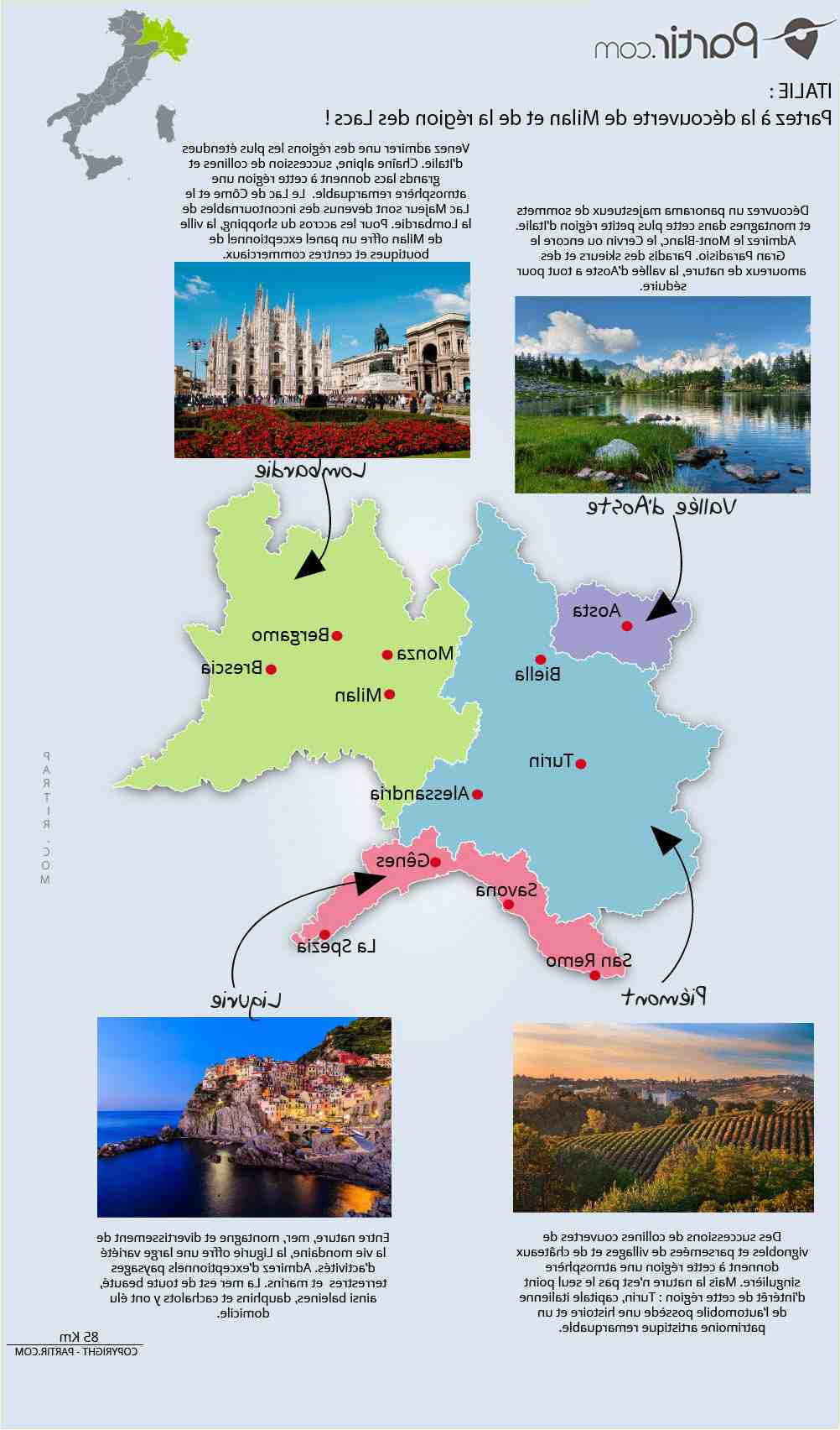 Quels sont les plus beaux lacs italiens?