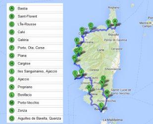 Où aller en Corse pour 4 jours ?